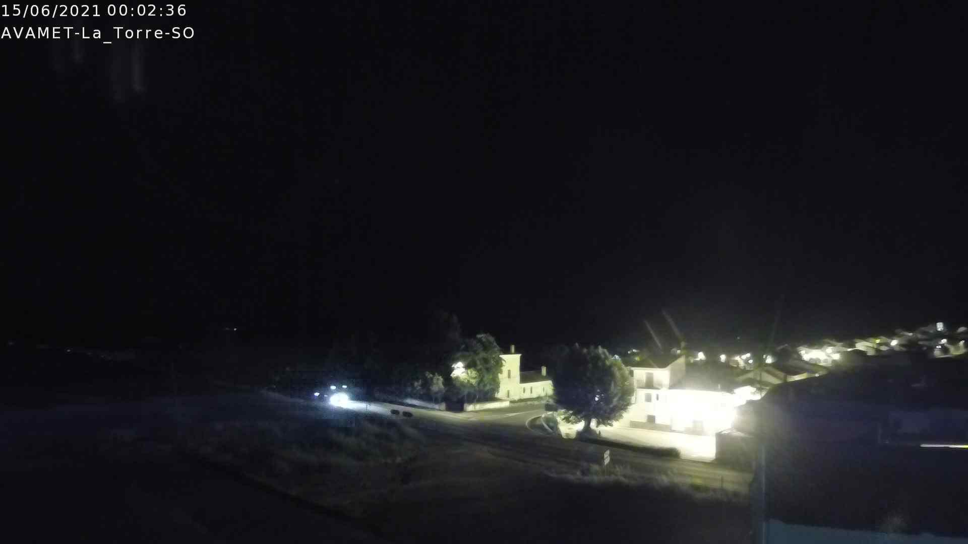 time-lapse frame, Utiel La Torre AVAMET webcam