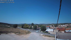 view from Utiel La Torre AVAMET on 2021-07-18