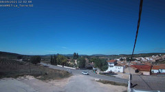 view from Utiel La Torre AVAMET on 2021-09-08