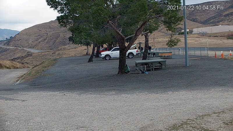 time-lapse frame, Canyon Crosswinds webcam