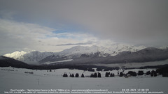 view from Pian Cansiglio - Casera Le Rotte on 2021-01-04