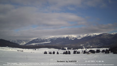 view from Pian Cansiglio - Casera Le Rotte on 2021-01-15