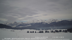 view from Pian Cansiglio - Casera Le Rotte on 2021-01-17