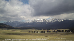 view from Pian Cansiglio - Casera Le Rotte on 2021-04-04