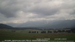 view from Pian Cansiglio - Casera Le Rotte on 2021-07-22