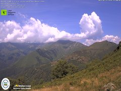 view from Lago Maggiore Zipline on 2021-07-21