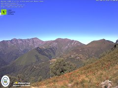 view from Lago Maggiore Zipline on 2021-08-23