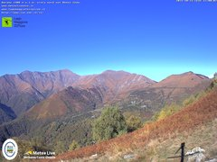 view from Lago Maggiore Zipline on 2021-10-23