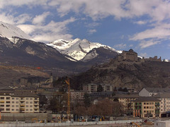 view from Sion - Industrie 17 on 2021-02-16
