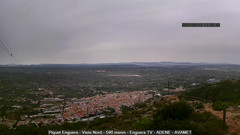 view from Enguera ADENE on 2021-09-13