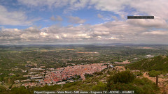 view from Enguera ADENE on 2021-09-22